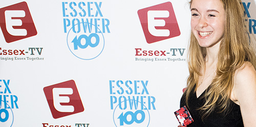 Miss Africa at the Essex TV Awards