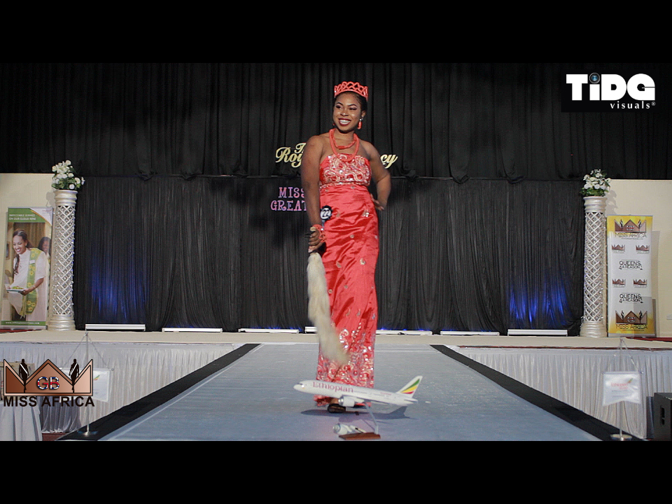 Miss Africa Great Britain 2017 Cultural Round