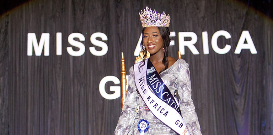 LEILA SAMATI IS MISS AFRICA GREAT BRITAIN 2018