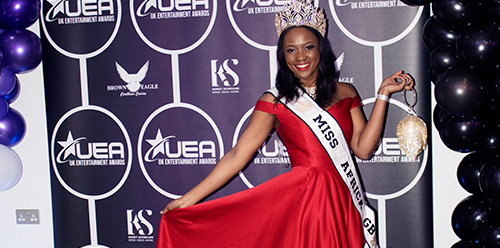 Miss Africa GB at the UK Entertainment Awards