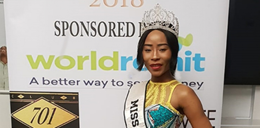 MISS AFRICA GB AT MISS UGANDA FINALS