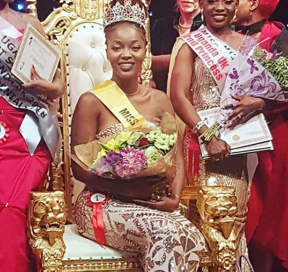 winner miss uganda uk 2018