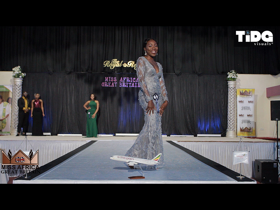 Miss Africa Great Britain 2017 Evening Round