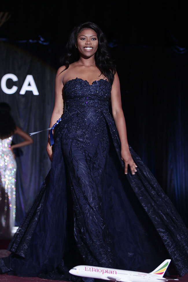 Miss Africa Evening Wear
