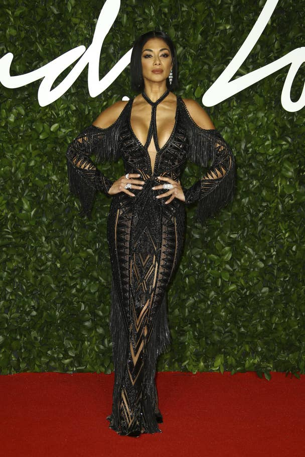 fashion awards Nicole Scherzinger