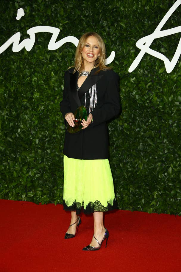 fashion awards kylie minogue