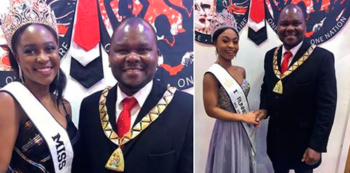 Miss Africa Queen and Princesses meet the Mayor of Brent