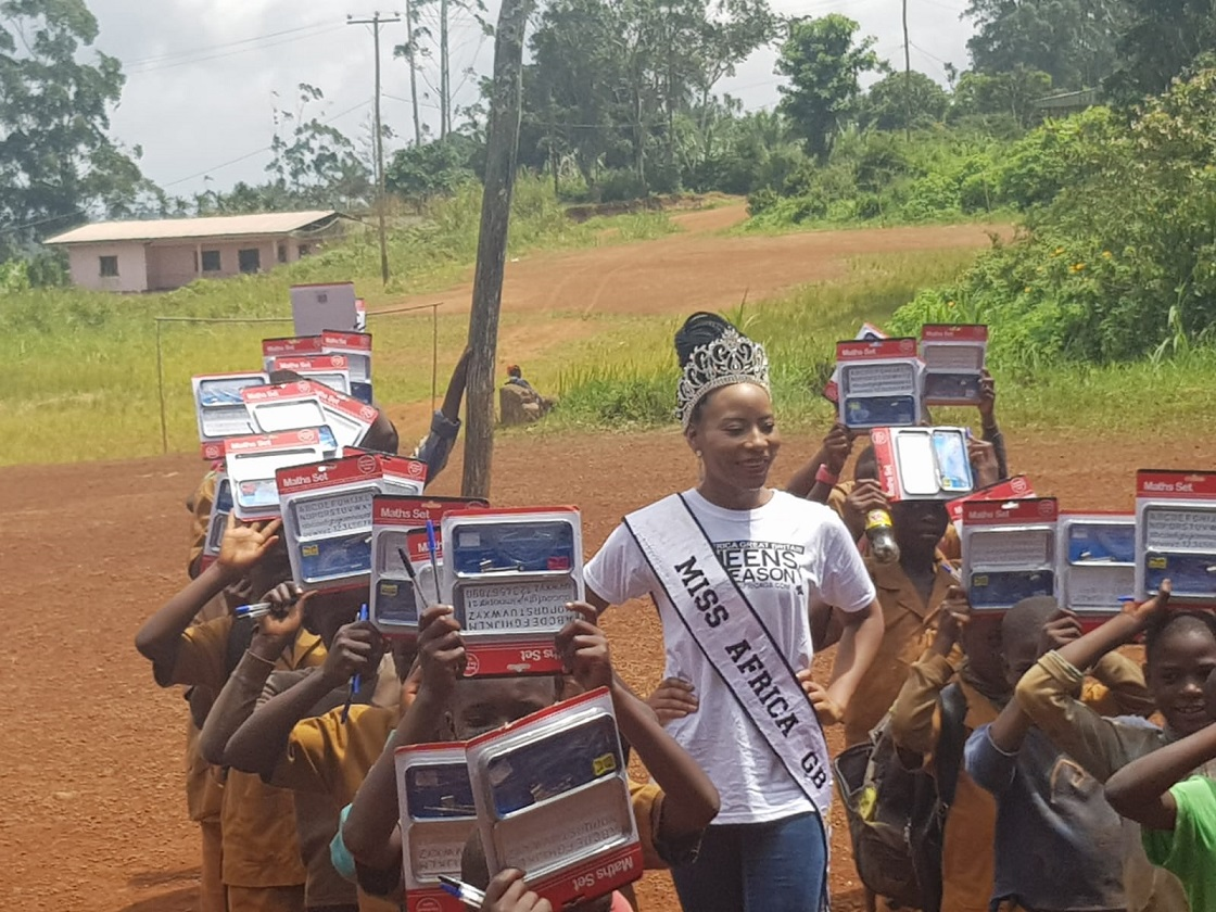 miss africa gb uk 2018 charity mission1