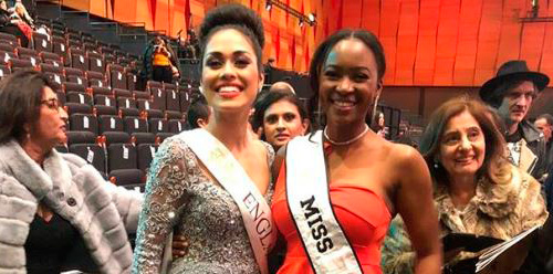 Miss Africa at the Miss World 2019 Finals
